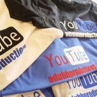 Silhouette Cameo YouTube Promotional Shirt Design