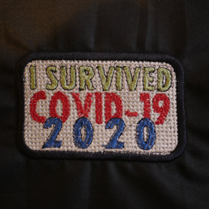 Covid-19 Survival Embroidery Design