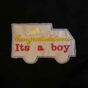 It's a Boy Design Applique Design