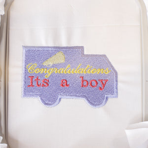 It's a boy Embroidery Design