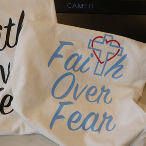 Silhouette Cameo 4 Faith over Fear Design File
