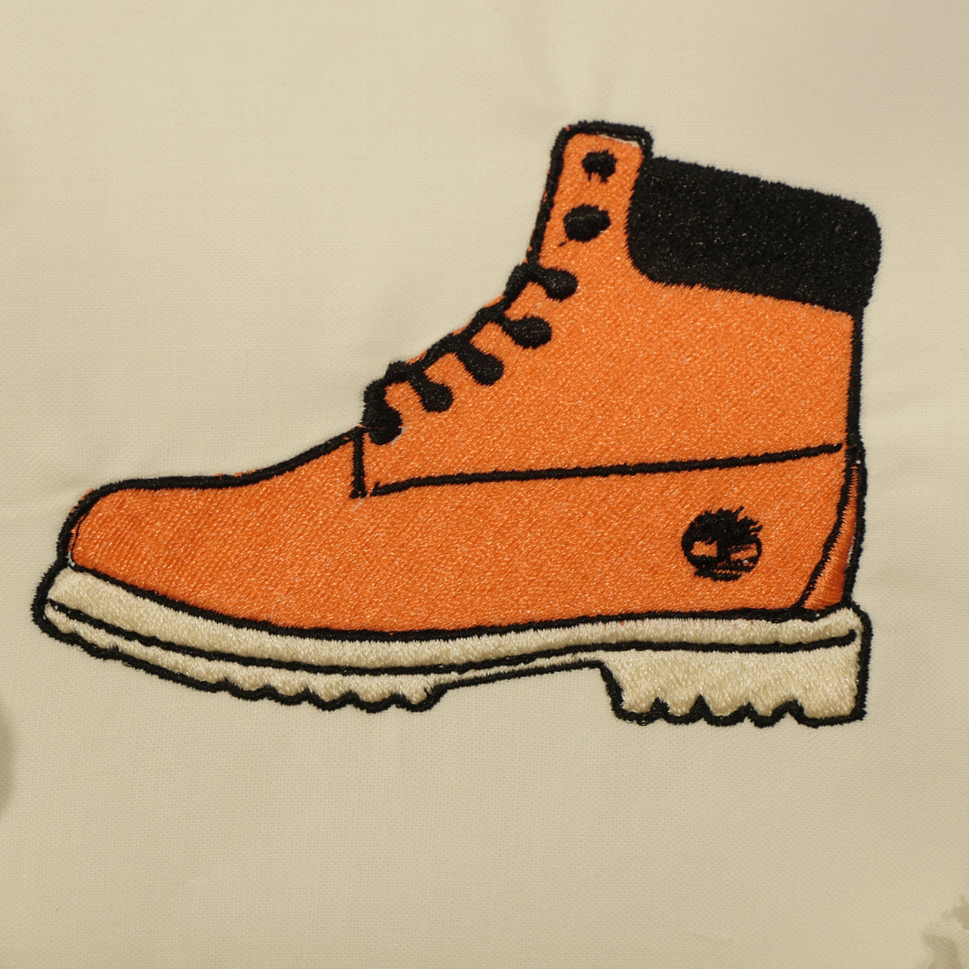 Timberland Boot Embroidery File