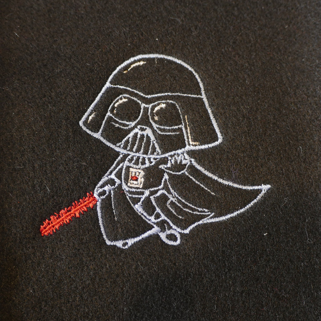 Baby Darth Vader Embroidery Design