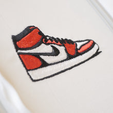 Jordan 1s Embroidery Design