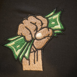 Money Hand Embroidery Design
