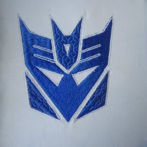 Transformers Decepticon Logo Embroidery Design