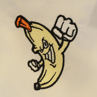 Banana Man Embroidery design