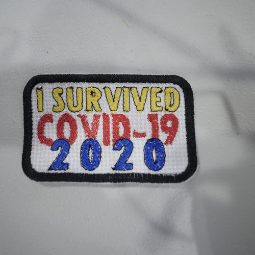 I Survived Covid-19 2020 Embroidery Patch