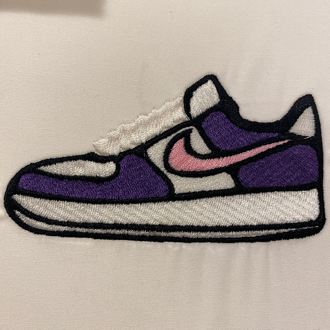 AirForce one Low Sneaker Embroidery Design