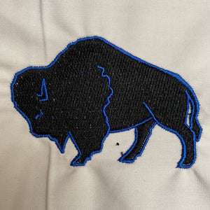Buffalo Silhouette Embroidery Design
