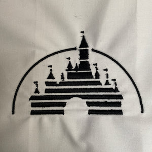 Castle Embroidery Design