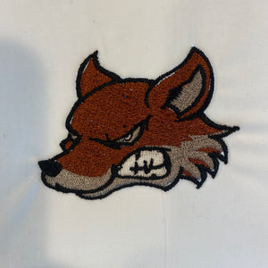Coyote Embroidery Design