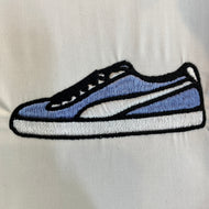 Puma Sneaker Embroidery Design