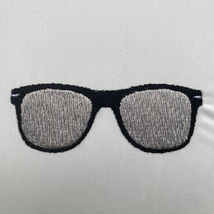 Ray-Ban Glasses Embroidery File