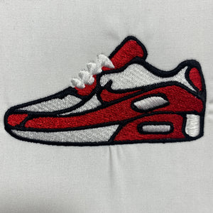 Nike Airmax Sneaker Embroidery Design