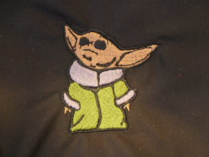 Yoda Embroidery Design