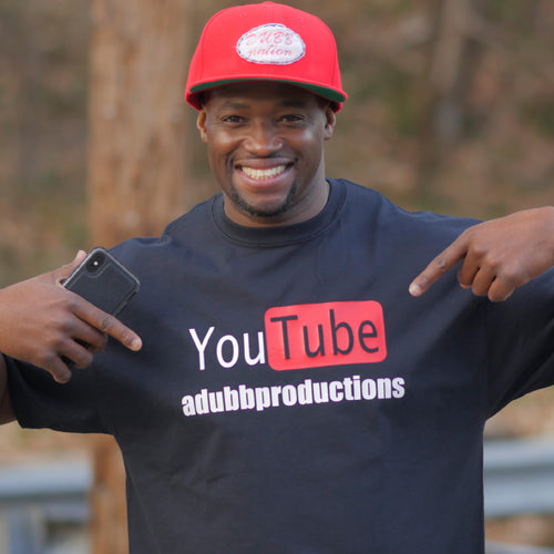 YouTube Channel A-Dubb Productions (Black)