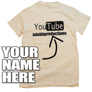 Custom YouTube Shirt