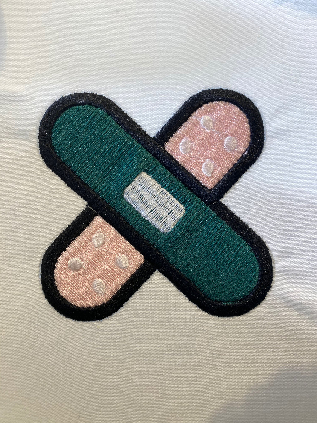 Bandaid Embroidery Design