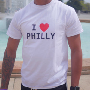 I Love Philly Tee (White)