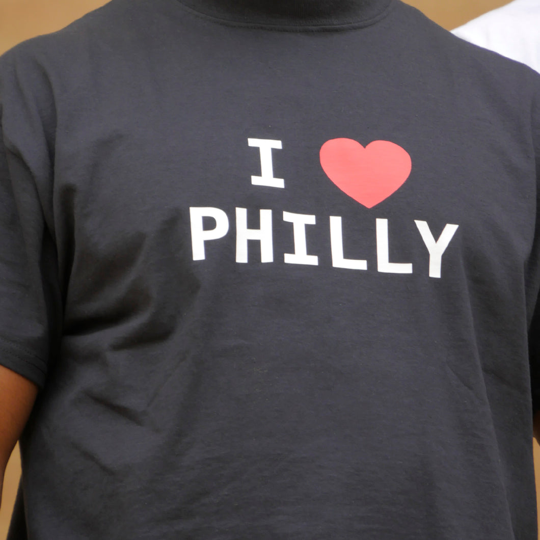 I Love Philly Tee (Black)