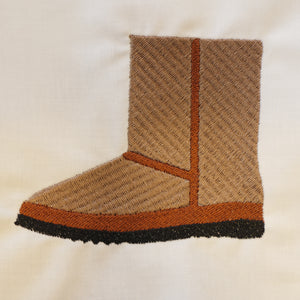 Ugg Embroidery Design