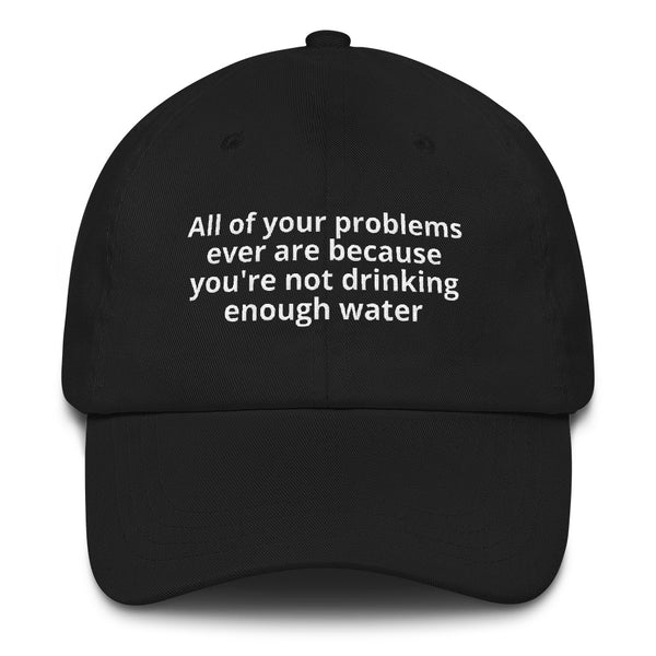 Drink Water Dad Hat
