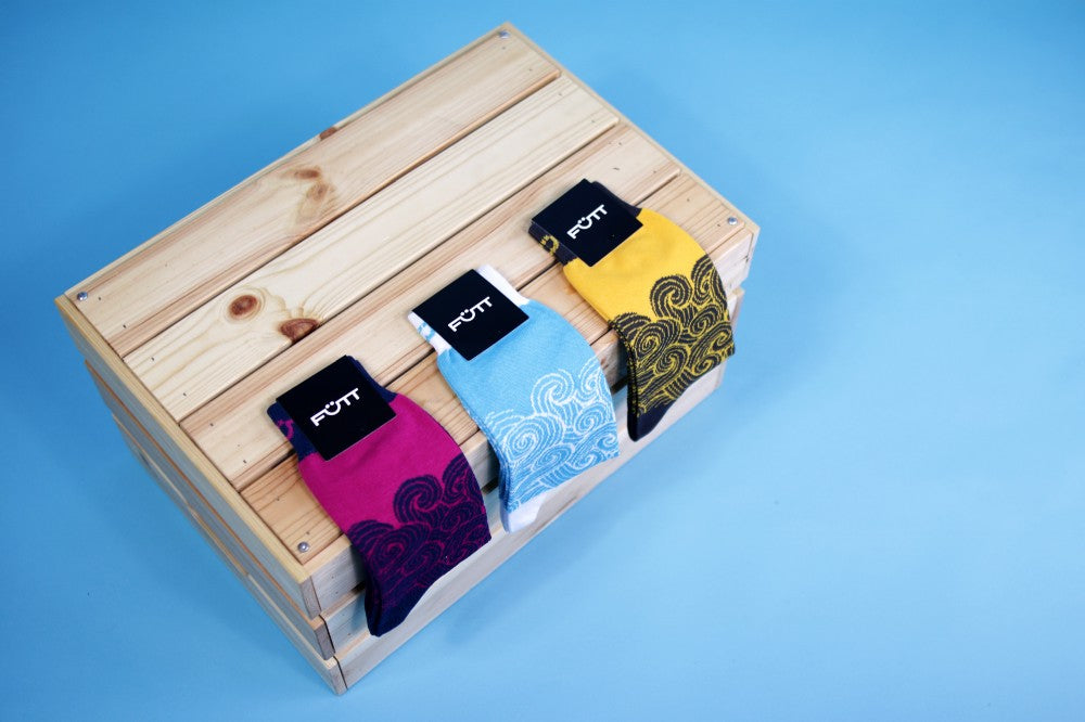 Why should you add a pop of colour to your sock drawer?