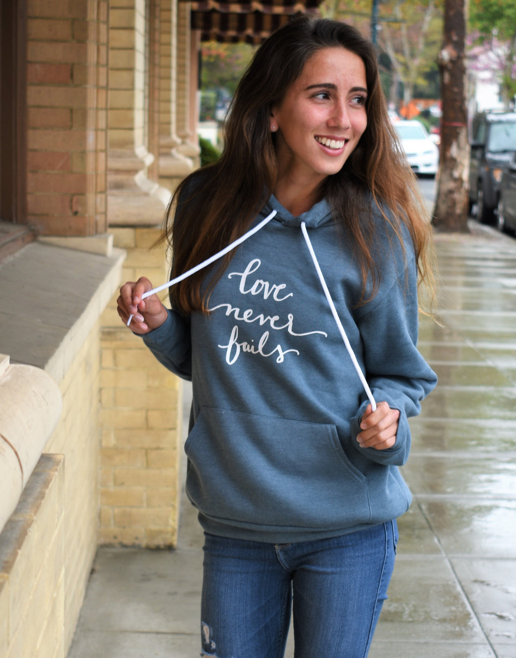 Hoodie | Love Never Fails | The Shanyn - Ariella's Designs