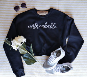 Cropped Sweater | Unbreakable | The Amy - Ariella's Designs