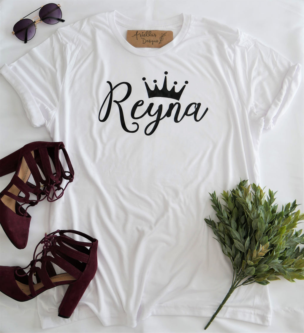 Crew Tee | Reyna | The Leah - Ariella's Designs