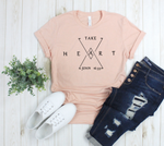 Crew Tee | Take Heart | The Leah - Ariella's Designs