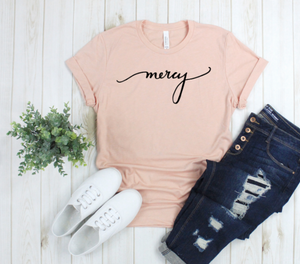 Crew Tee | Mercy | The Leah - Ariella's Designs