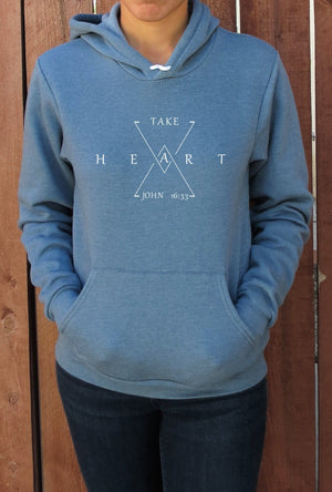 Hoodie | Take Heart | The Shanyn - Ariella's Designs