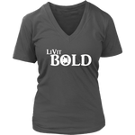 LiVit BOLD District Women's V-Neck Shirt - LiVit BOLD