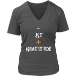 Just Add Gratitude Women's T-Shirt - LiVit BOLD - 7 Colors - LiVit BOLD