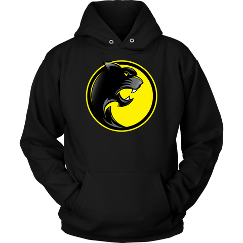 Pantherlete Athletics Unisex Hoodie - Black - LiVit BOLD