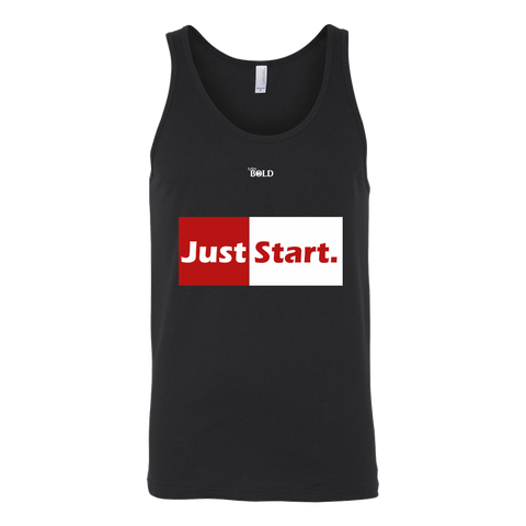 Just Start Unisex Tank Top - LiVit BOLD - 3 Colors - LiVit BOLD