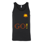 LiVit BOLD Canvas Unisex Tank - GO! Collection - LiVit BOLD