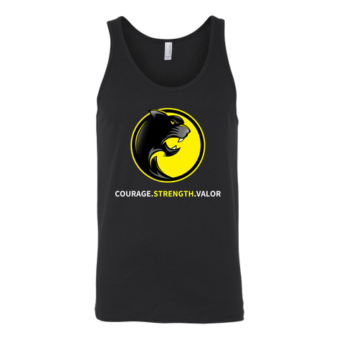 Pantherlete Athletics Unisex Tank - Black - LiVit BOLD