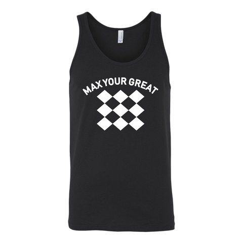 Max Your Great 2.0 Unisex Tank - 6 Colors - LiVit BOLD