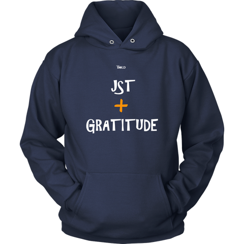 Just Add Gratitude Unisex Hoodie - LiVit BOLD - 11 Colors - LiVit BOLD