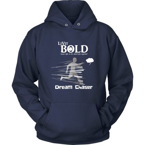 LiVit BOLD Men & Women Hoodies - Dream Chaser - LiVit BOLD