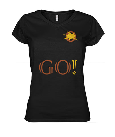 LiVit BOLD  Women's V-Neck Shirt - GO! Collection - LiVit BOLD