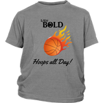LiVit BOLD District Youth Shirt --- Hoops All Day - LiVit BOLD