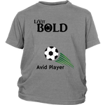 LiVit BOLD District Youth Shirt --- Avid Player - LiVit BOLD