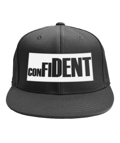 CONFIDENT Snap Back Caps - LiVit BOLD - 4 Colors - LiVit BOLD