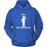 LiVit BOLD Hoodies for Men & Women - Our Real Heroes - Army Style - LiVit BOLD