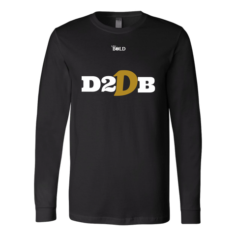 Dare To Dream BIG Men's Long Sleeve T-Shirt  - 6 Colors - LiVit BOLD