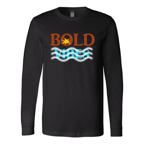 BOLD Vibes Men's Long Sleeve T-Shirt - LiVit BOLD - 6 Colors - LiVit BOLD